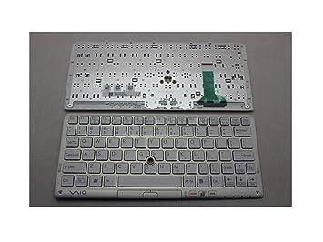 Nosotros teclado para Sony VAIO VPCP11 VPCP115KG VPCP11S1E para portátiles blanco: Amazon.es: Electrónica