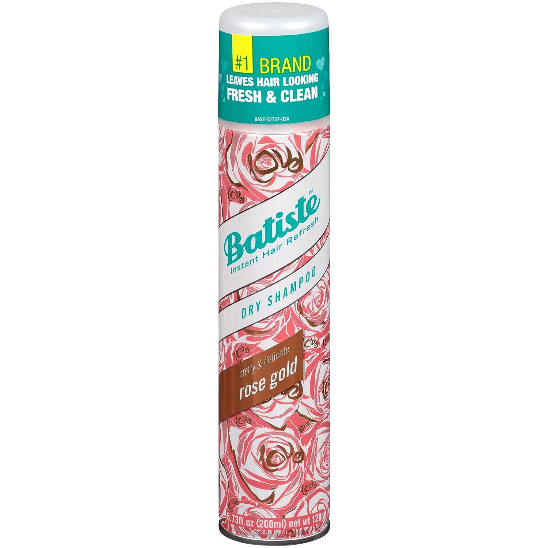 Pink colored Batiste 'Rose Gold' dry shampoo