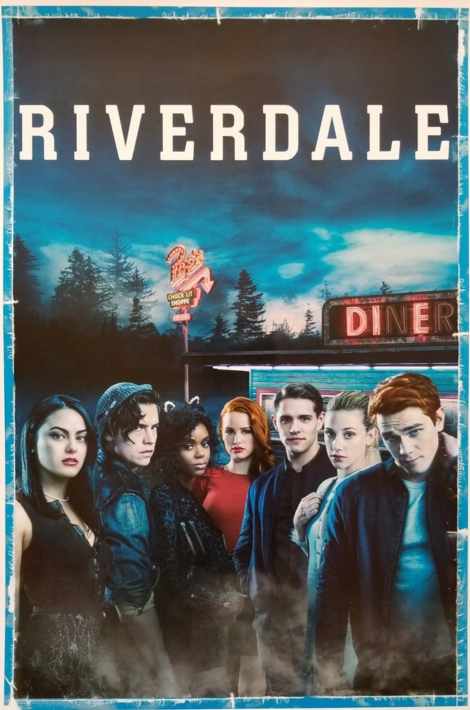 Riverdale Cole Sprouse K.J. Apa Lili Reinhart Camilia Mendes Madelaine Petsch and Gang 'Die' by Pop's 11 x 17 Inch Poster Litho