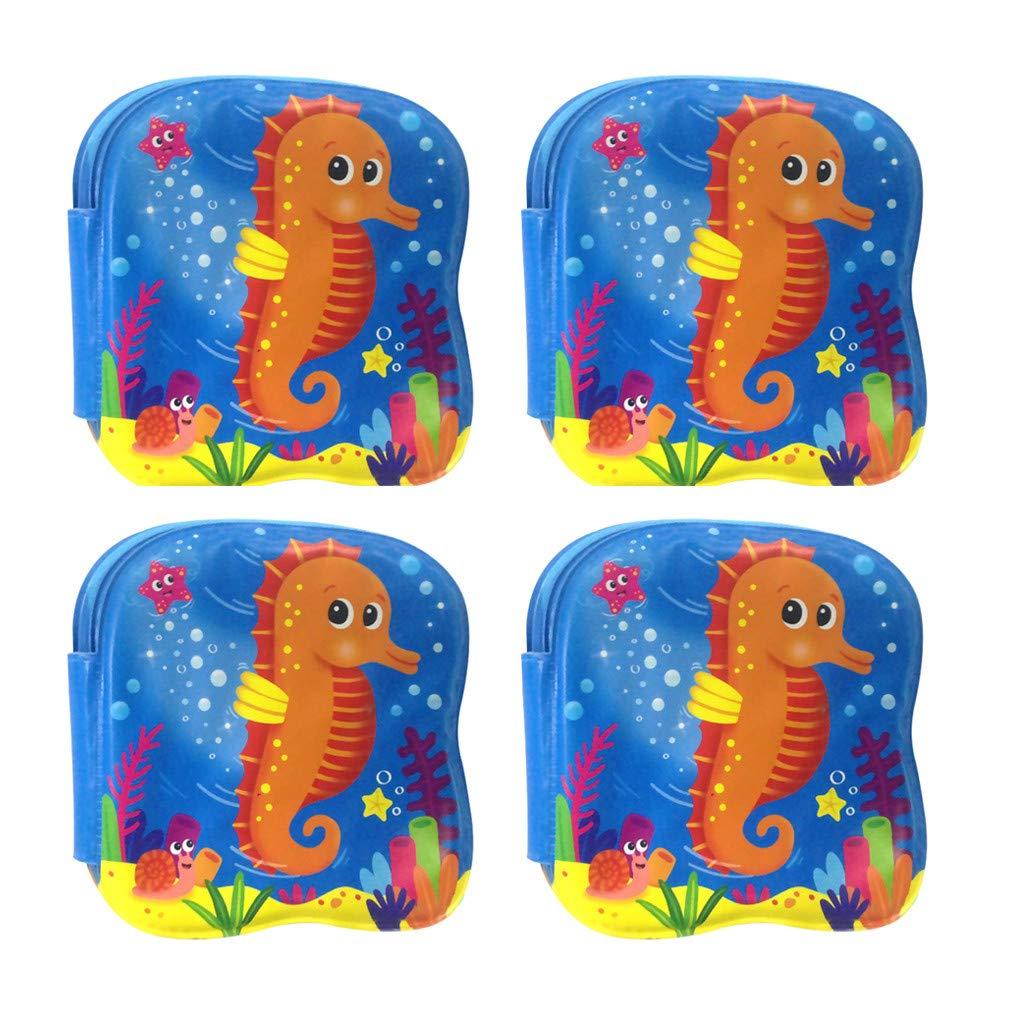 TADAMI Bath Book Waterproof Kids Bathtime Educational Infant Bath Floating Baby Bath Books Home /& Garden