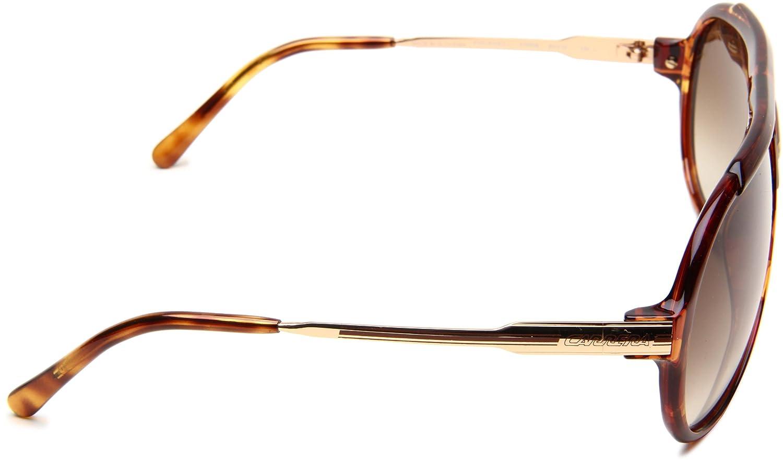 25d155f771 Carrera Endurance/L/S Sunglasses, 061W Blonde Havana Striped Gold DB Brown  Gray GradientLens, 63mm: Amazon.ca: Shoes & Handbags