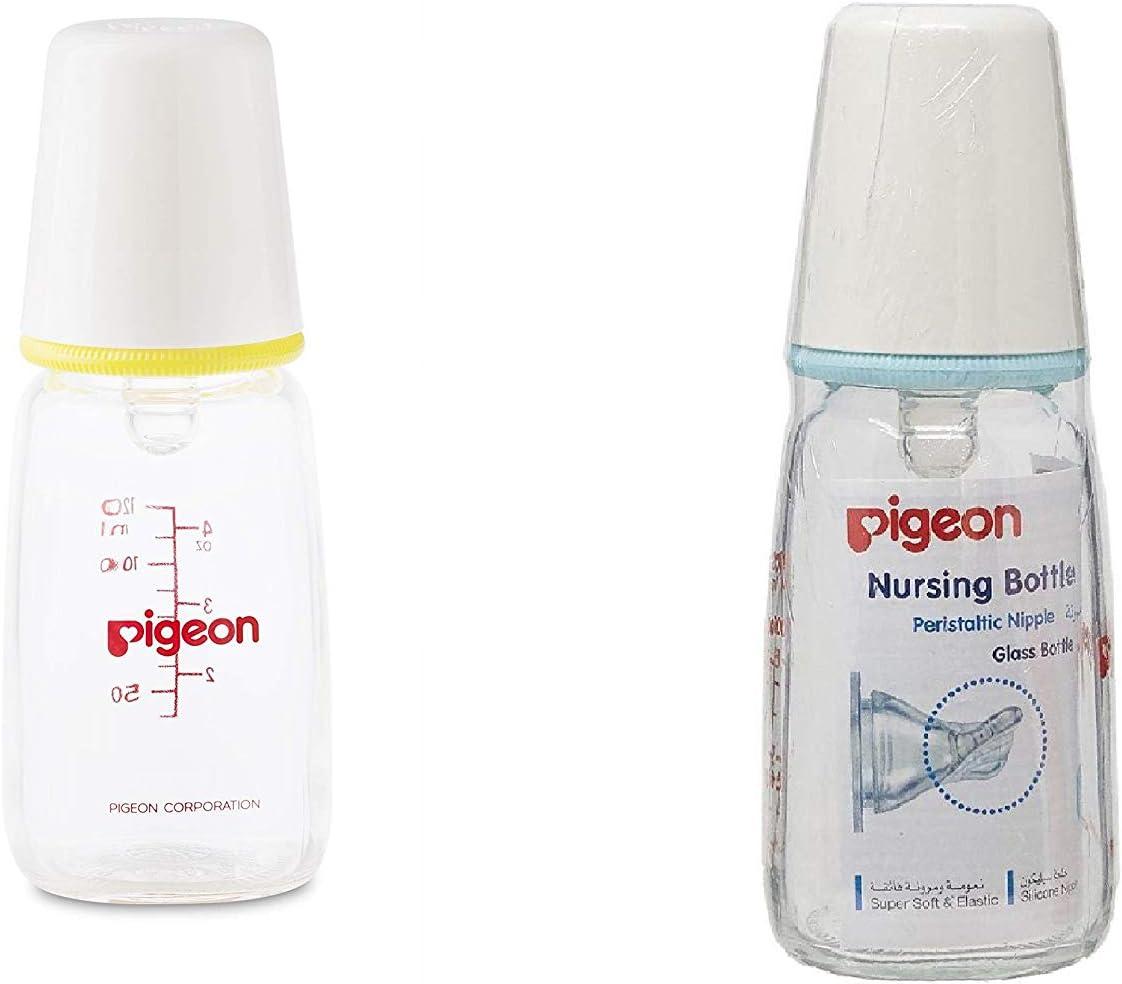 زجاجة رضاعة من بيجون بحجم 120 مل متوفرة بالوان مختلفة