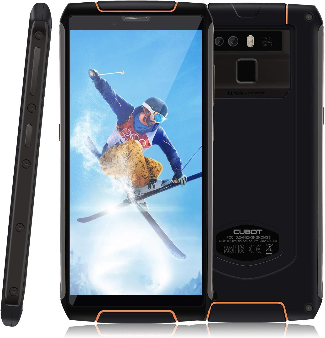 CUBOT King Kong 3 - Smartphone Impermeable IP 68, 5,5 Pulgadas ...