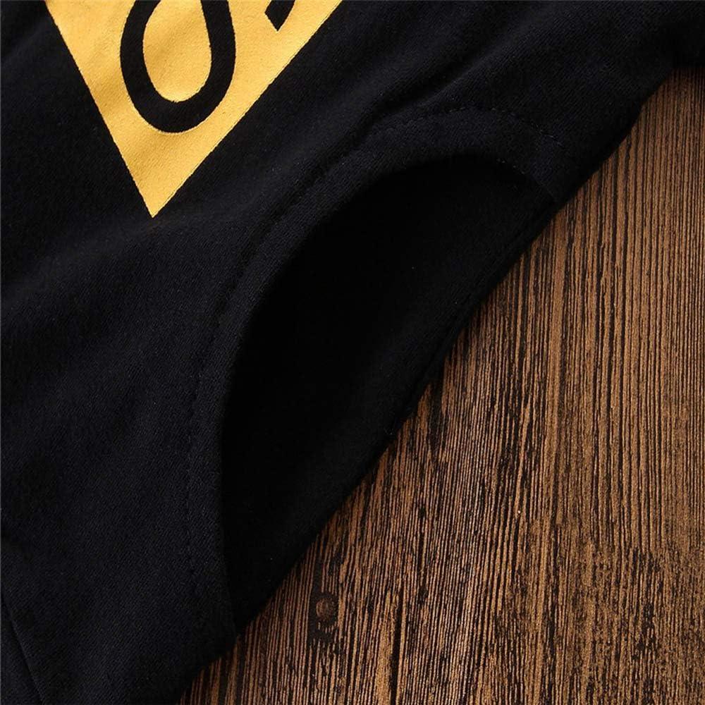Pantalones Invierno 2PC LANSKIRT Ropa de Trajes de Reci/én Nacido Infantil beb/é ni/ñas ni/ños Impresi/ón alfanum/érica de Manga Larga Sudadera con Capucha