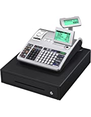 Casio SE-S3000MB-SR GDPdU Thermo-Cash Register, 10 Lines, Silver/Black