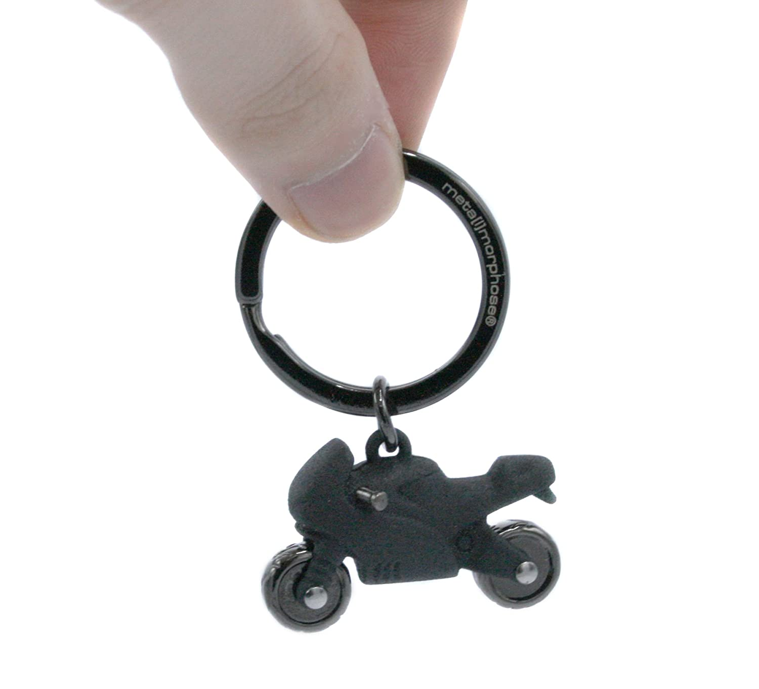 Amazon.com: Keychain Adrenaline Black Motorcycle. Beautifull ...