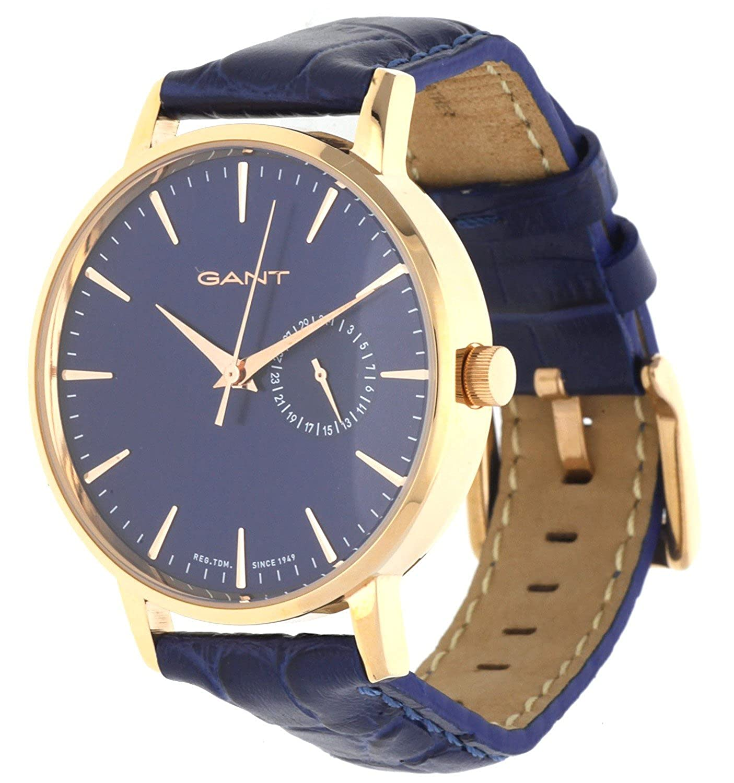 GANT TIME Damen-Armbanduhr PARK HILL II MID Analog Quarz Leder W109220