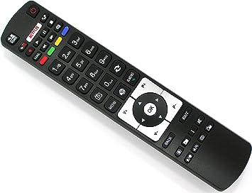 Mando a Distancia de Repuesto para Telefunken Smart TV DVD RC5118 Netflix & Youtube: Amazon.es: Electrónica