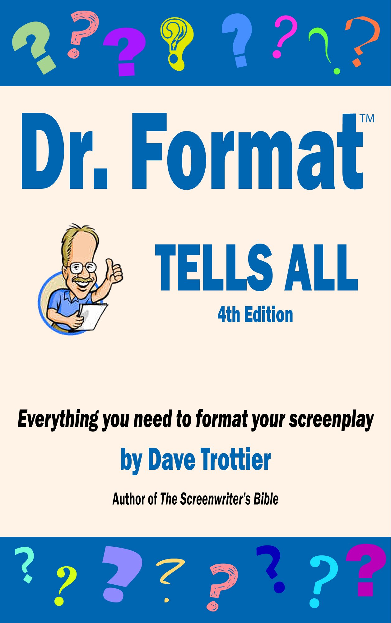 Dr. Format Tells All (4th edition) ebook