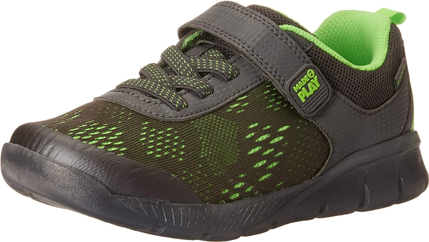 Stride Rite Kids' Made2play Lighted Neo Sneaker