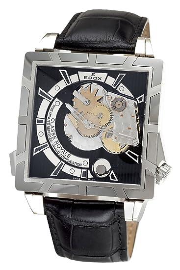 Edox - Reloj de Pulsera para Hombre, 5 Minutos, Estilo Repetidor: Amazon.es: Relojes