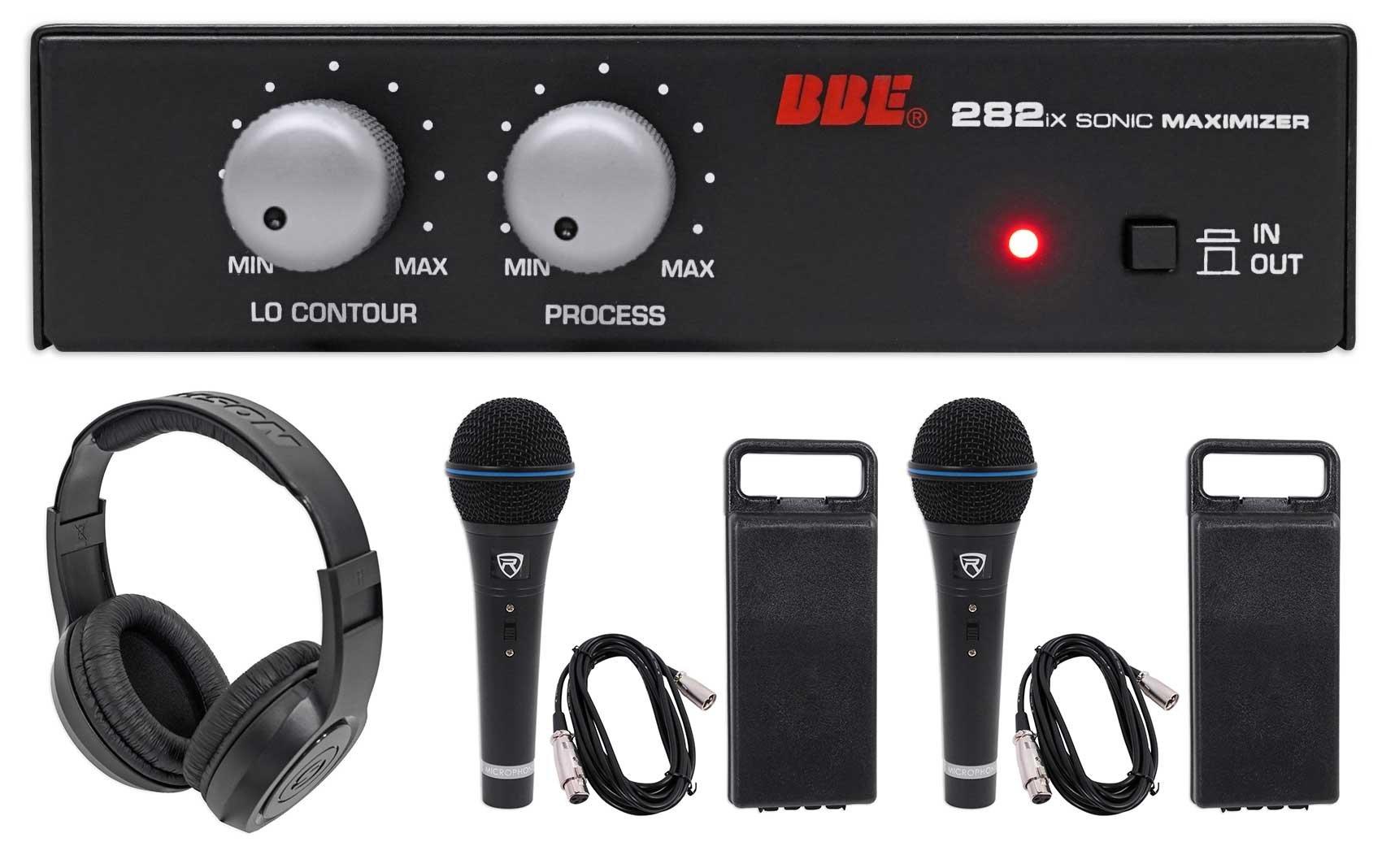BBE 282IX Desktop Sonic Maximizer w/XLR Inputs/Outputs+Headphones+Mics+Cables