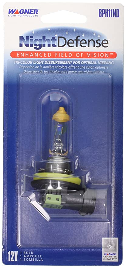Wagner H11 NightDefense Replacement Bulb, (Pack of 1)