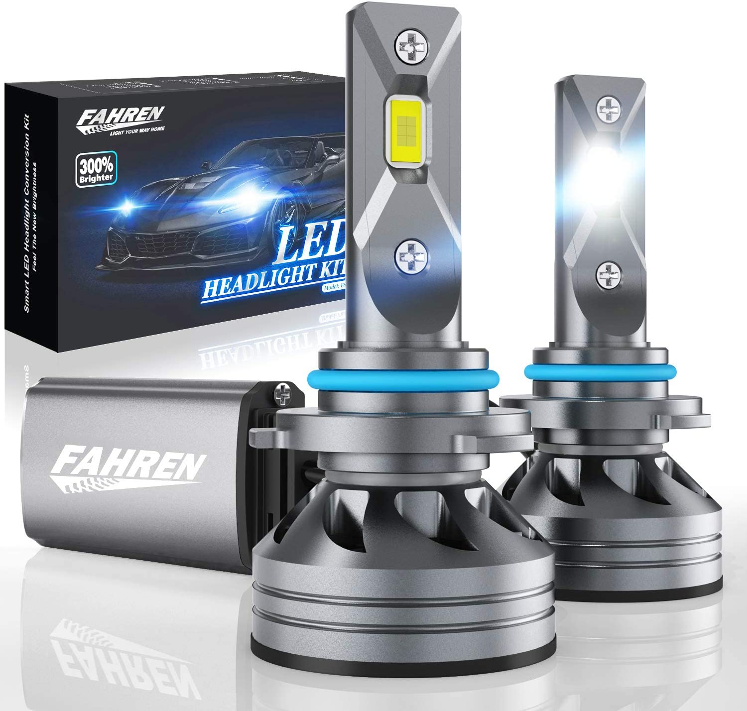 Fahren 9005/HB3/H10 LED Headlight Bulbs