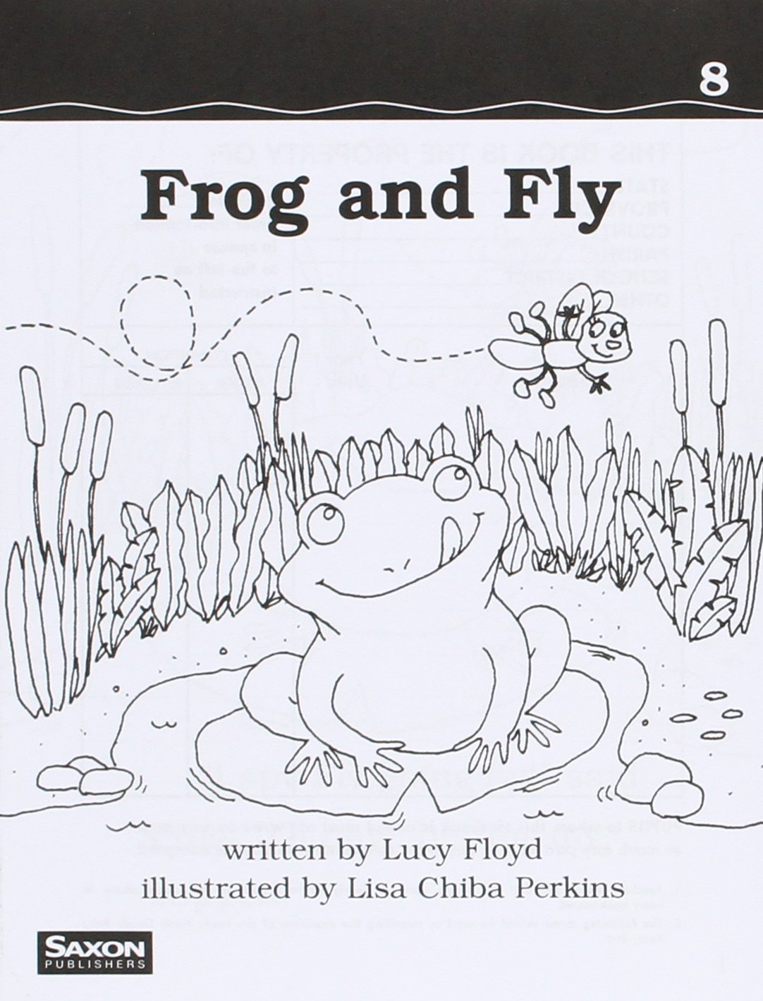 P&s 2 Dr08 Frog and Fly (Bw) PDF