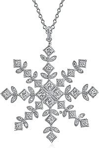 CHRISTMASINJULY Starburst Sunburst Snowflake Winter Elsa Frozen 14k Yellow Gold Vintage Antique Pendant Simple Classic