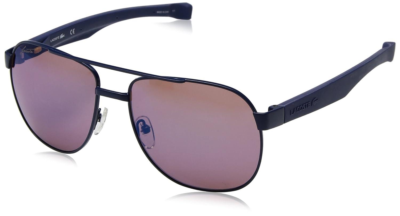 1eb75d981 Lacoste Men's L186s Aviator Sunglasses, Black Matte, 57 mm: Amazon.ca:  Clothing & Accessories