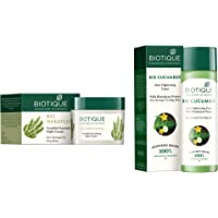 Biotique Bio Wheat Germ FIRMING FACE and BODY NIGHT CREAM For Normal To Dry Skin, 50G and Biotique Bio Cucumber Pore Tightening Toner, 120ml