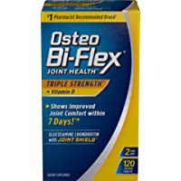 Triple Strength Glucosamine Chondroitin with Vitamin D by Osteo Bi-Flex, for Immune and Bone Health*, 120 Count