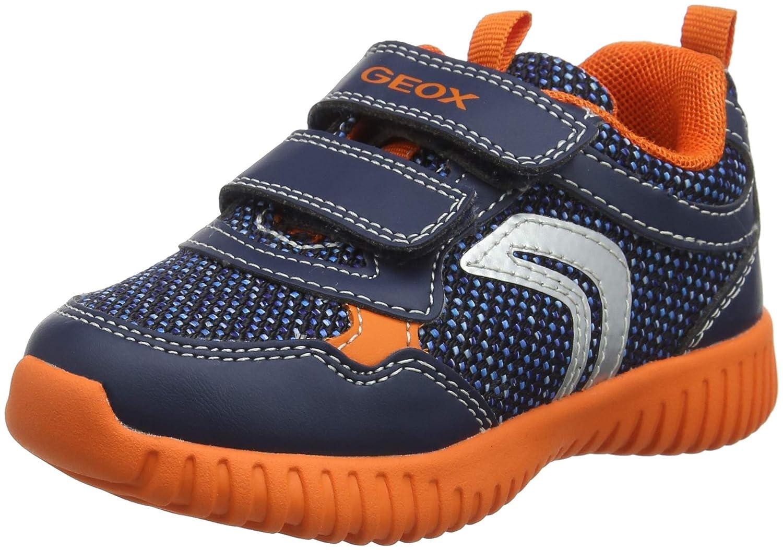 3838944ff05 (5 UK Child, (Navy/Orange C0820)) - Geox Baby Boys' B Waviness B Low-Top  Sneakers: Amazon.com.au: Fashion