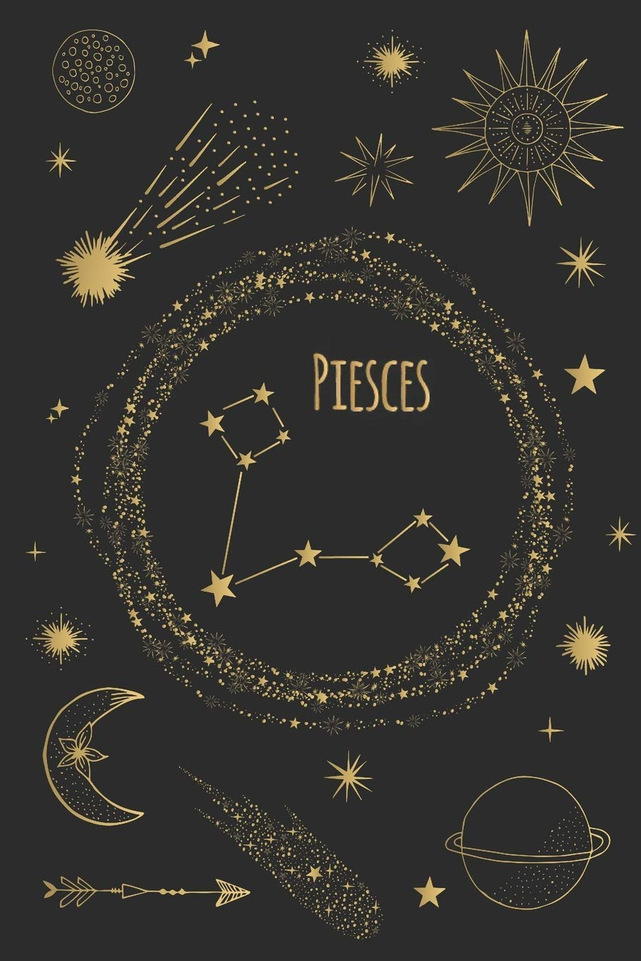 Pieces Horoscope Journal   Zodiac Notebook   A Great Pieces Gift ...