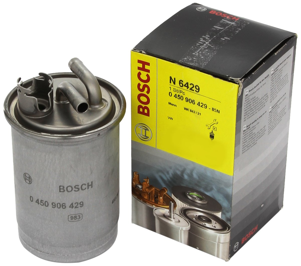 Bosch 0 450 906 429 Filtro Combustible
