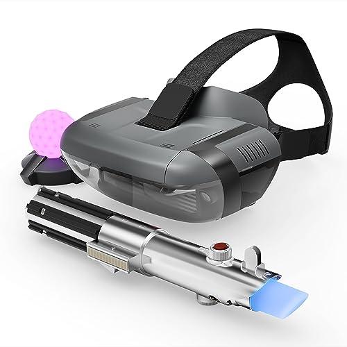 Lenovo Desafios Jedi Paquete de Realidad Virtual VR con las Gafas de realidad aumentada Lenovo Mirage Mando espada láser Baliza de movimiento