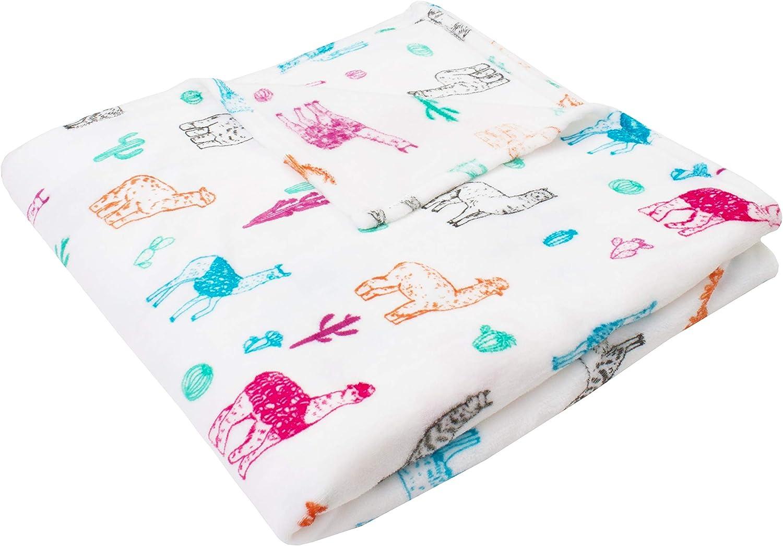 Amazon.com: Thro by Marlo Lorenz Throw Blanket, White: Home & Kitchen