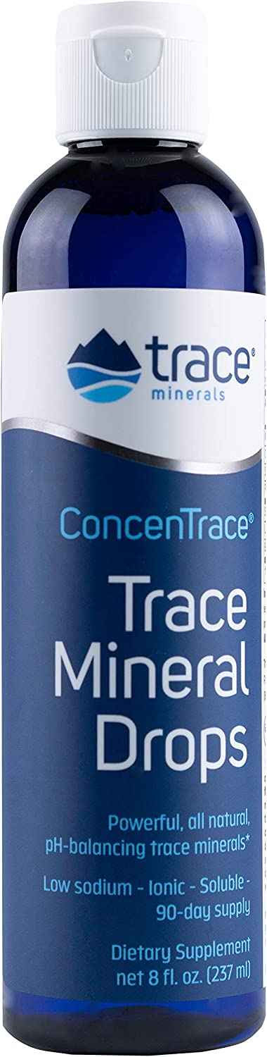 Trace Minerals Research - Concentrace Trace Mineral Drops - 8 Fl Oz (Pack of 1): Health & Personal Care