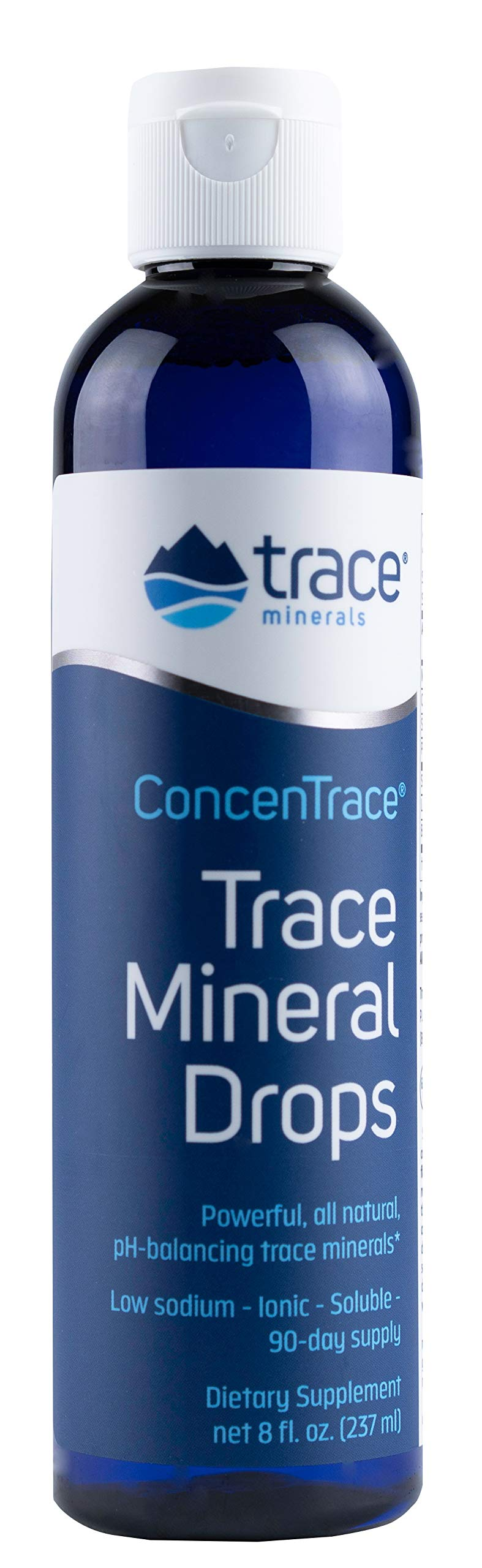 Trace Minerals Research - Concentrace Trace Mineral Drops, 8 Fl Oz liquid by Trace Minerals Research