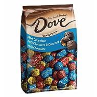 DOVE-PROMISES Variety Mix-Individually Wrapped Chocolate Candies-Dark Chocolate, Milk Chocolate & Caramel, Milk Chocolate-153 Piece Bag