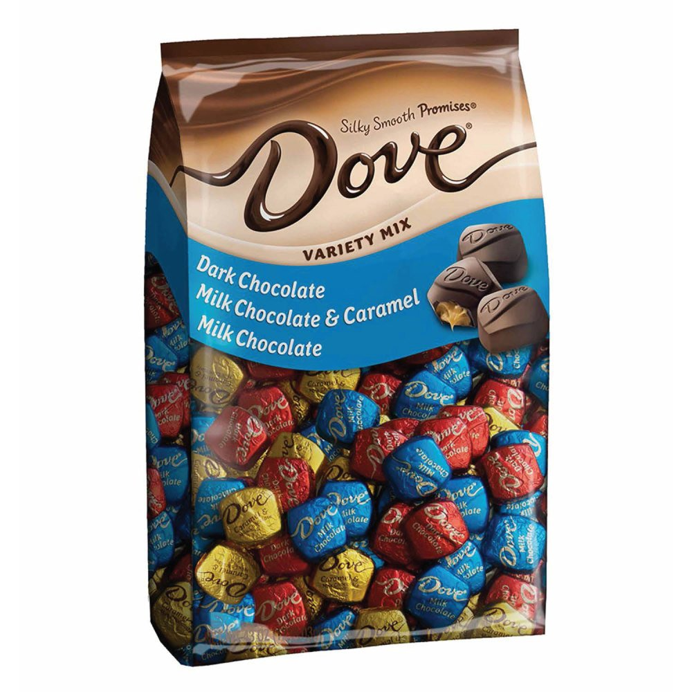 DOVE PROMISES Variety Mix Chocolate Candy 43.07-Ounce 153-Piece Bag