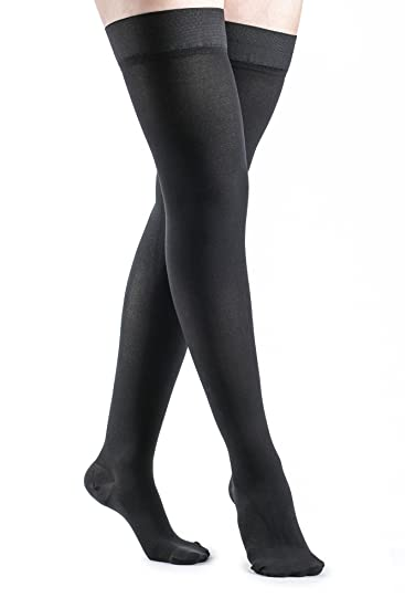 0ced75521b9 Image Unavailable. Image not available for. Color  SIGVARIS Women s Access  970 Closed-Toe Thigh High Medical Compression 20-30mmHg