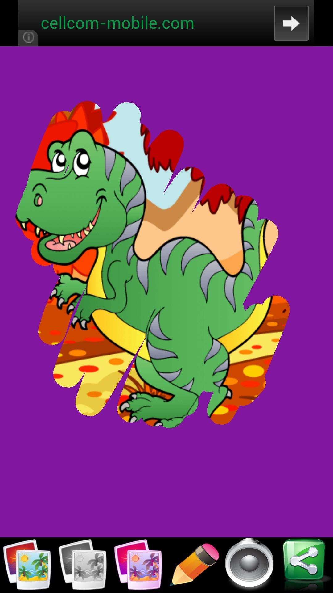 Juegos de dinosaurios para los niños - Diversión y Jigsaw
