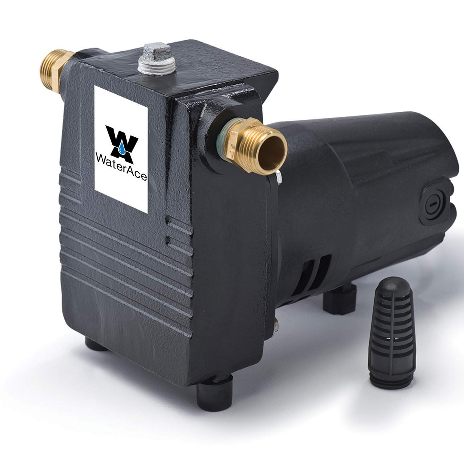 WaterAce WA57CIUP Transfer Pump, Black