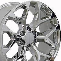 OE Wheels 20 Inch Fits Chevy Silverado Tahoe GMC Sierra Yukon Cadillac Escalade CV98 Chrome 20x9 Rim Hollander 5668