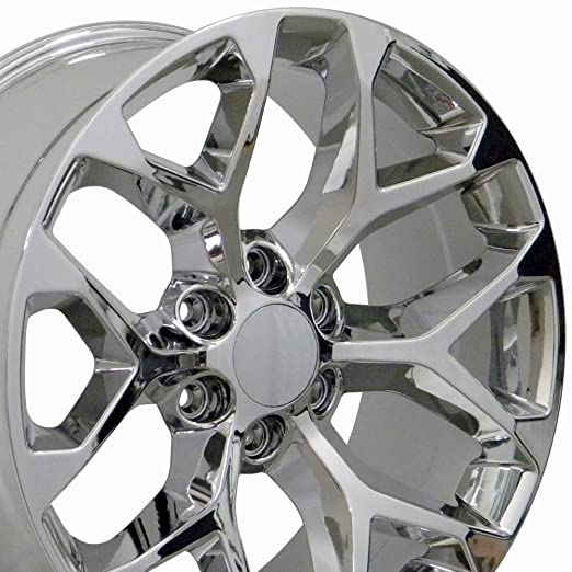 wheels oem machined rims stock factory face style inch sierra replica gmc black