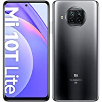 "Xiaomi Mi 10T Lite 6/128GB Dual SIM Pearl Grey inclusief Koptelefoon 6,67"" FHD+ 4.820 mAh batterij"