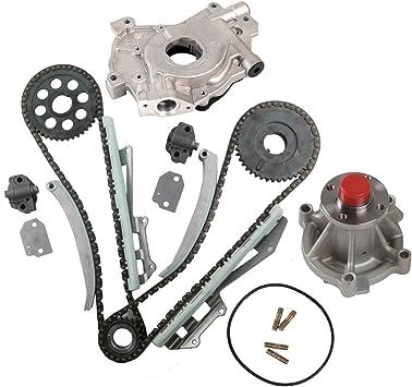97-02 Ford F-150 Mercury 4.6L SOHC Timing Chain Kit-no gears Water Pump Oil Pump