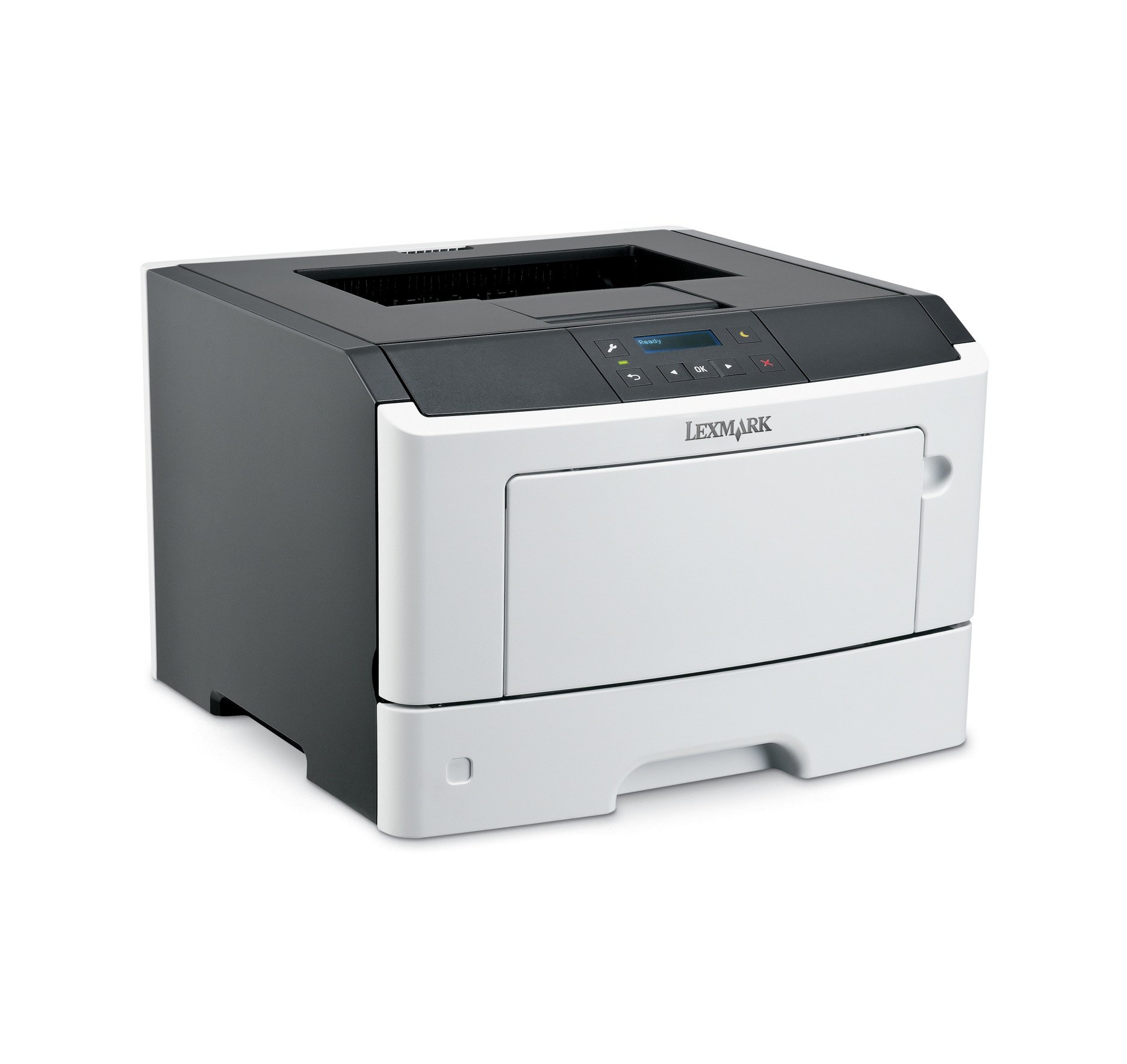Lexmark MS317dn Compact Laser Printer, Monochrome, Networking, Duplex Printing by Lexmark