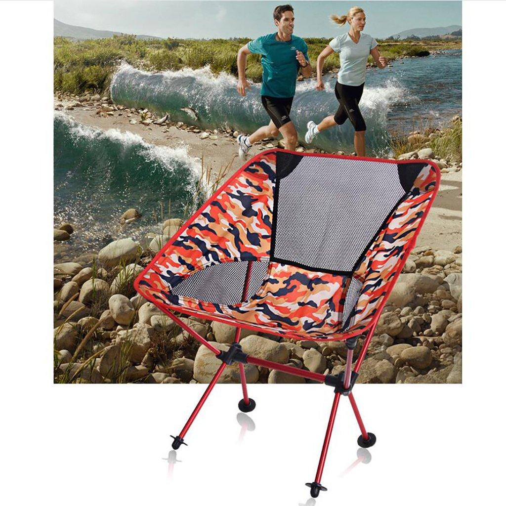 HSTV Outdoor Plegable Silla De Camping Paño Oxford 600D Portátil Silla De Pesca Para Practicar Senderismo, Picnic, Pesca Con Bolsa De Transporte: Amazon.es: ...