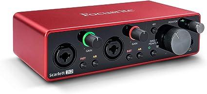 Focusrite Scarlett 2i2 3rd Gen USB Audio Interface: Amazon.co.uk ...