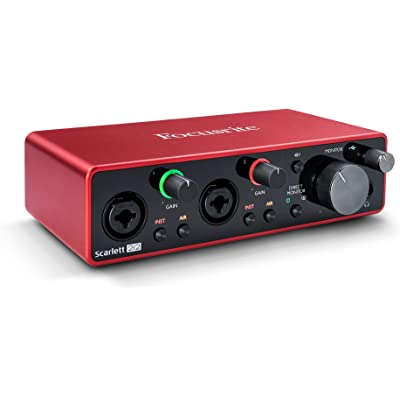 Focusrite Scarlett  2i2 3rd Gen - Interfaz de audio USB