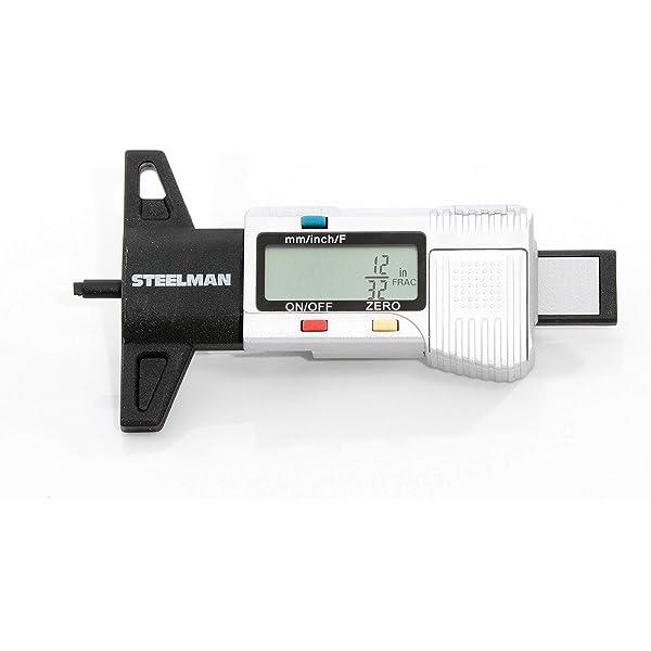 Digital depth gauge caliper tread depth gauge LCD Tyre tread gauge C8P2
