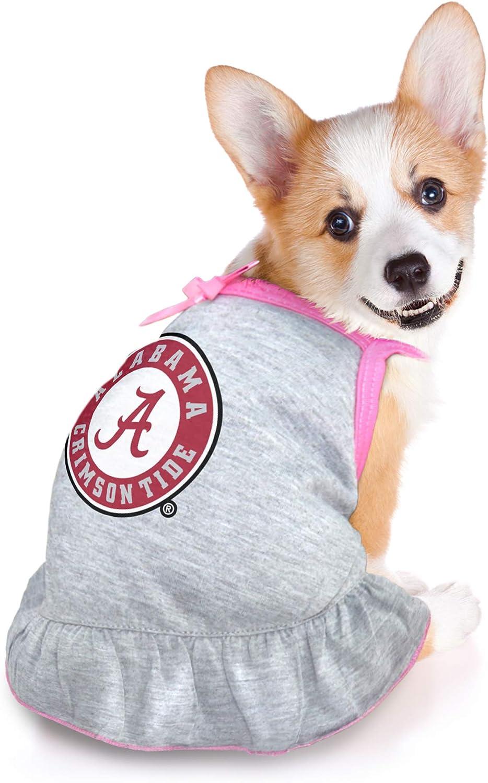 Extra Small Littlearth NCAA Alabama Crimson Tide Pet Dress