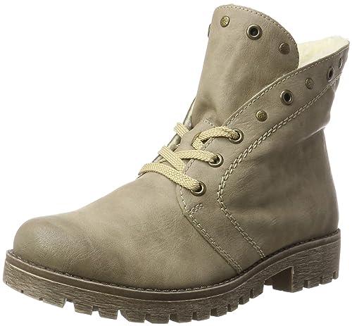Womens 53224 Boots, Grey, 3.5 UK Rieker