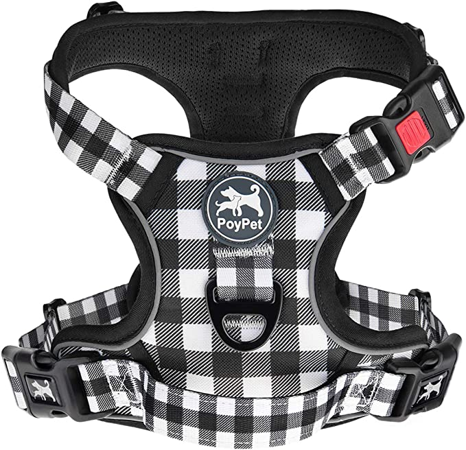 PoyPet No Pull Dog Harness, [Upgraded Version]