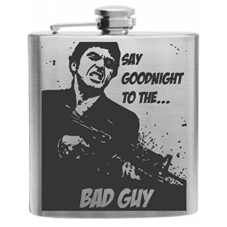Amazoncom Say Goodnight To The Bad Guy Scarface Stainless Steel