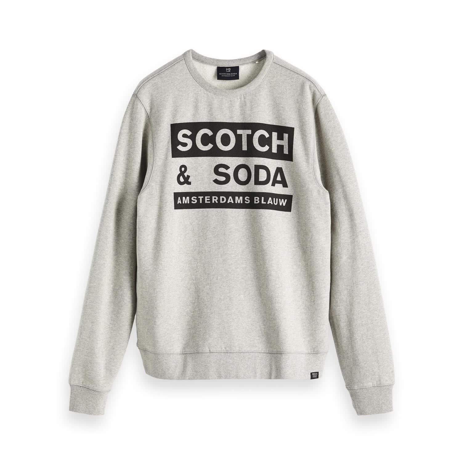 Scotch & Soda Men's Logo Text Sweatshirt 147628