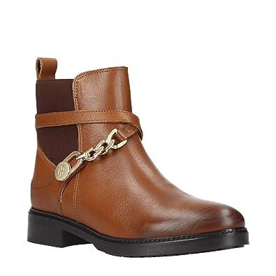 919061bccb882 Tommy Hilfiger Kette Bootie Leat, Botin fur Damen  Amazon.de  Schuhe ...